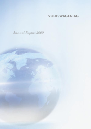 Volkswagen AG annual report 2000