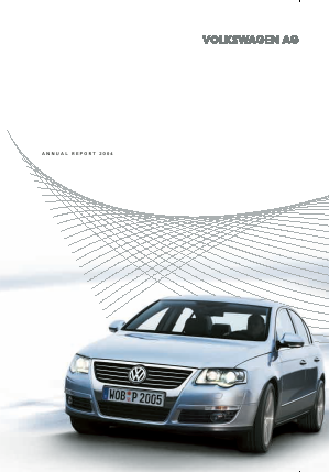 Volkswagen annual report 2004