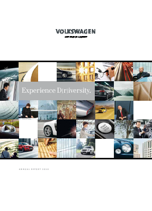 Volkswagen annual report 2010