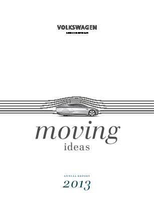 Volkswagen AG annual report 2013