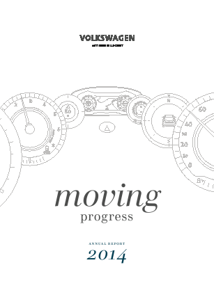 Volkswagen annual report 2014