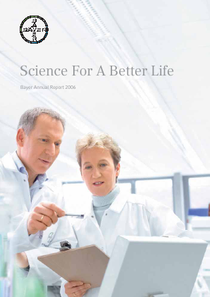 Bayer annual report 2006