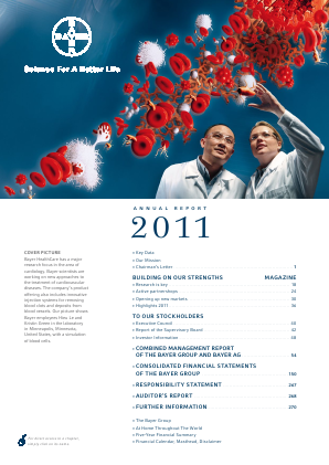 Bayer annual report 2011