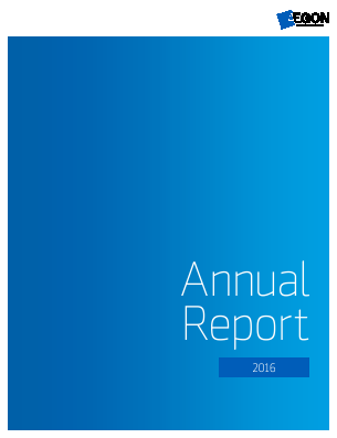 Aegon annual report 2016