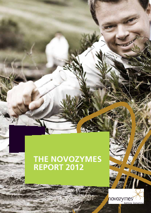 Novozymes annual report 2012