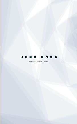 Hugo Boss annual report 2008