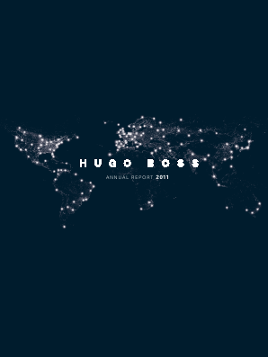Hugo Boss annual report 2011