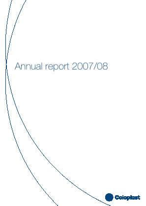 Coloplast annual report 2008