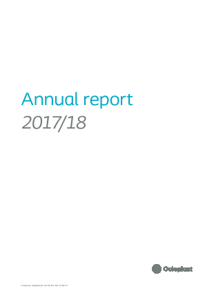 Coloplast annual report 2018