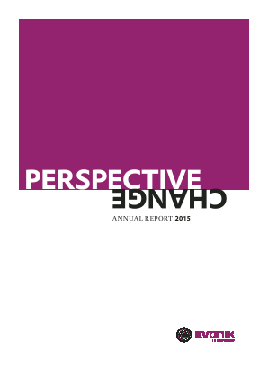 Evonik Industries annual report 2015