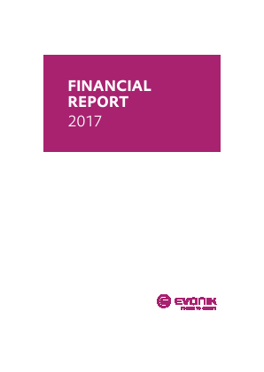 Evonik Industries annual report 2017