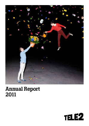 Tele2 annual report 2011