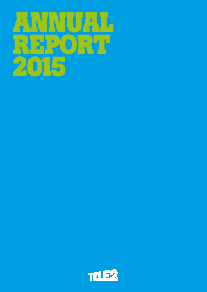 Tele2 annual report 2015