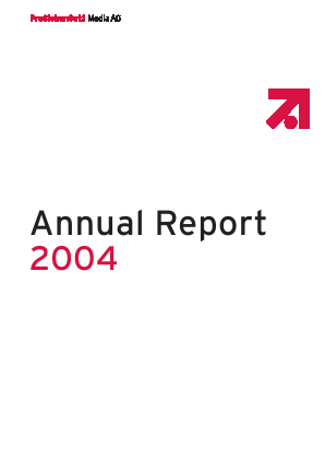 Prosiebensat 1 Media annual report 2004