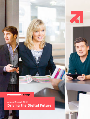 Prosiebensat 1 Media annual report 2012