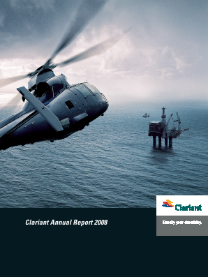 Clariant annual report 2008
