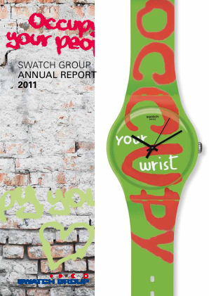 Swatch Group annual report 2011