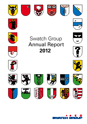 Swatch Group annual report 2012