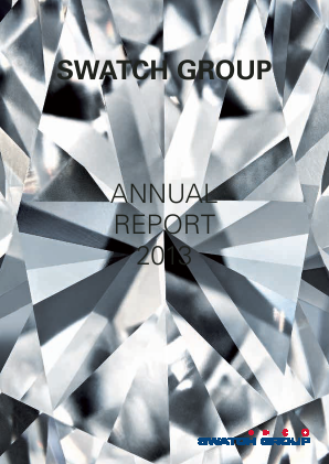 Swatch Group annual report 2013