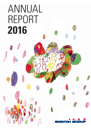 Swatch Group annual report 2016