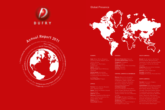 Dufry annual report 2011
