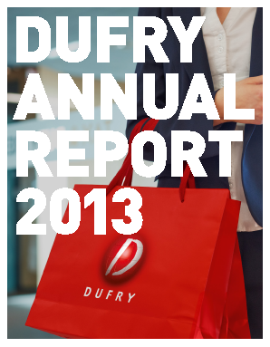 Dufry annual report 2013