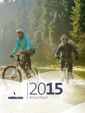 Swisscom annual report 2015