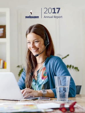 Swisscom annual report 2017