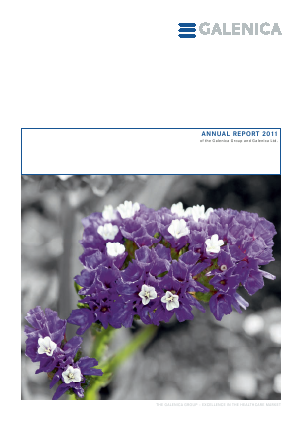 Galenica annual report 2011