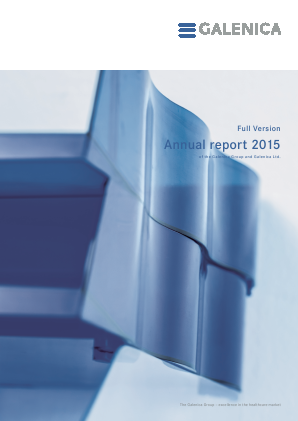 Galenica annual report 2015