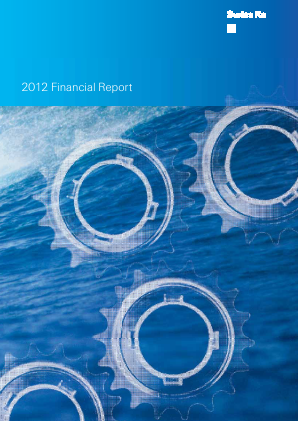 Swiss RE annual report 2012