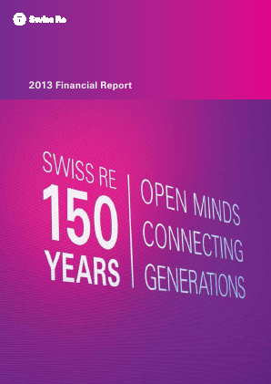 Swiss RE annual report 2013