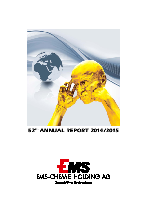 Ems-Chemie annual report 2015