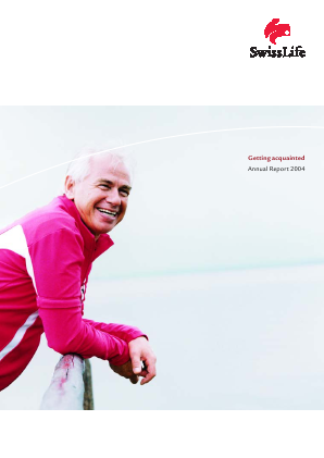 Swiss Life annual report 2004