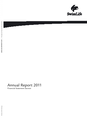 Swiss Life annual report 2011