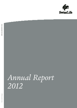 Swiss Life annual report 2012