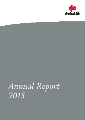 Swiss Life annual report 2015