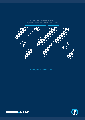 Kuehne Und Nagel International annual report 2011