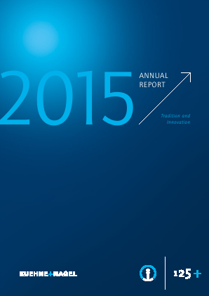 Kuehne Und Nagel International annual report 2015