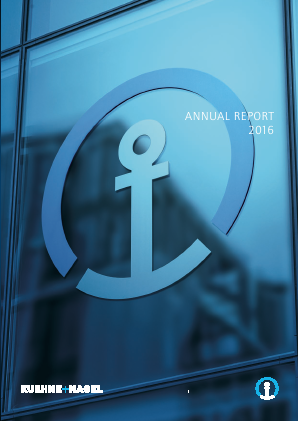 Kuehne Und Nagel International annual report 2016