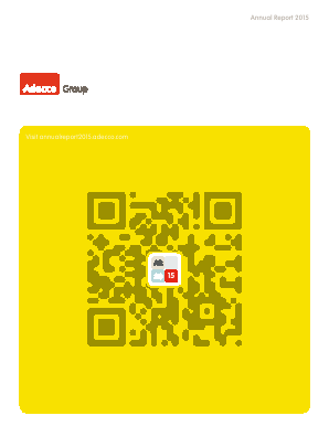 Adecco annual report 2015