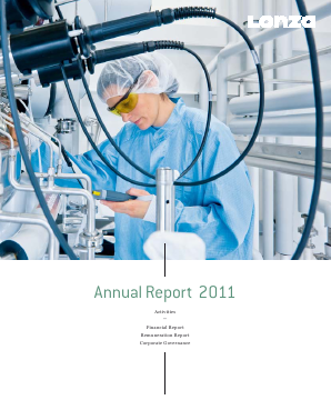 Lonza annual report 2011