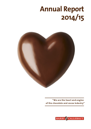 Barry Callebaut annual report 2015