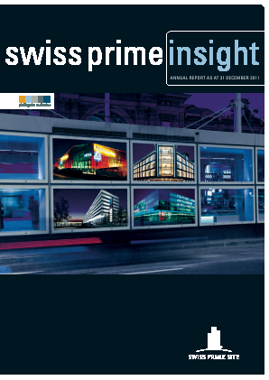 Swiss Prime Site annual report 2011