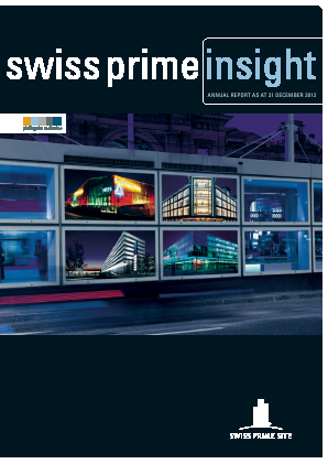 Swiss Prime Site annual report 2012