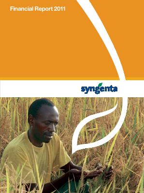 Syngenta annual report 2011