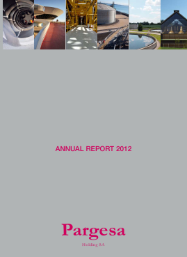 Pargesa annual report 2012