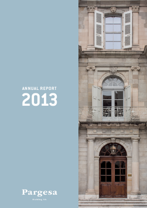 Pargesa annual report 2013