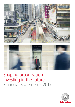 Schindler annual report 2017