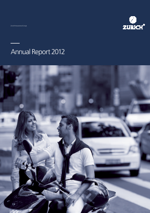 Zurich Insurance Group annual report 2012